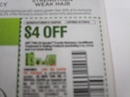 15 Coupons $4/2 Garnier Fructis Shampoo Conditioner Treatment or Styling 9/7/2019