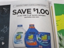 15 Coupons $1/1 All Laundry Detergent 9/21/2019
