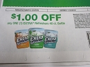 15 Coupons $1/1 Extra Refreshers 40ct Bottle DND 11/3/2019