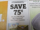 15 Coupons $.75/1 Blue Diamond Nut Thins Crackers 10/27/2019