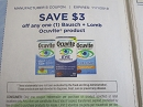 15 Coupons $3/1 Bausch + Lomb Ocuvite 11/1/2019