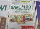 15 Coupons $1/2 Belvita Biscuits 10/26/2019
