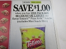 15 Coupons $1/1 Totino's Pizza Rolls 90ct+ 12/7/2019