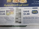 15 Coupons $1/1 Giovanni Rana Refrigerated Pasta + $1/1 Refrigerated Sauce 12/31/2019