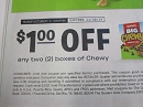 15 Coupons $1/2 boxes Quaker Chewy 11/30/2019
