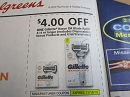 15 Coupons $4/1 Gillette Razor or Blade Refill 4ct 11/16/2019