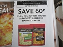 15 Coupons $.60/2 Sargento Shredded Natural Cheese 1/5/2020