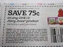 Hot Variation 15 Coupons $.75/1 Juicy Juice 12/23/2019