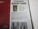 15 Coupons $1/1 Blue Diamond Almonds 5oz 1/26/2020