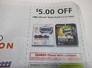15 Coupons $5/1 Gillette Blade Refill 4ct 1/4/2020