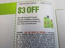 15 Coupons $3/2 Garnier Fructis Shampoo Conditioner Treatment or Styling 12/21/2019