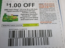 15 Coupons $1/1 Gain Flings 12 - 26ct or Gain Liquid Laundry Detergent 1/11/2020