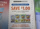 15 Coupons $1/1 bag Pirate's Booty 3/31/2020