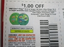 15 Coupons $1/1 Gain Flings 12ct or Gain Ultra Flings 18ct 1/25/2020