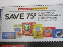 15 Coupons $.75/2 Nabisco Cookies or Crackers 2/22/2020