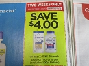 15 Coupons $4/1 Citrical 70ct 2/16/2020