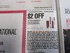 15  Coupons $2/1 Maybelline New York Lip 3/7/2020