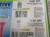 15 Coupons $3/1 Gillette Disposable 2ct + $3/1 Venus or Daisy Disposable 2ct or Pure Shave Care 4/25/2020