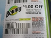 15 Coupons $1/1 Bounty Paper Towels 4/11/2020