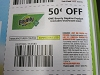 15 Coupons $.50/1 Bounty Napkins 4/11/2020