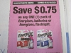15 Coupons $.75/1 Energizer Batteries or Flashlight 5/16/2020
