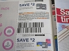 15 Coupons $2/1  Carefree Breathe Liner or Pads 16ct + $2/2 Stayfree Pads or Carefree Liners or Breathe Pads 5/3/2020
