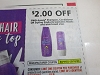 15 Coupons $2/2 Aussie Shampoo Conditioner or Styling 5/16/2020