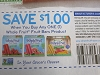 15 Coupons $1/1 Whole Fruit Fruit Bars 7/26/2020