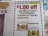 15 Coupons $1/1 Crunchmaster Crackers or Snacks 7/12/2020