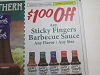 15 Coupons $1/1 Sticky Fingers Barbecue Sauce 6/28/2020