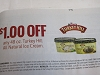 15 Coupons $1/1 Turkey Hill All Natural Ice Cream 48oz 6/27/2020