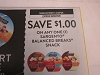 15 Coupons $1/1 Sargento Balanced Breaks Snack 8/2/2020