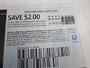 15 Coupons $2/2 Tresemme Shampoo or Conditioner 7/12/2020