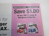 15 Coupons $1/1 Energizer Batteries 8/22/2020