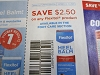 15 Coupons $2.50/1 Flexitol 10/31/2020