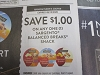 15 Coupons $1/1 Sargento Balanced Breaks Snack 9/12/2020