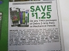 15 Coupons $1.25/2 Zebra Z Grip Pens or Mecanical Pencils 10/9/2020