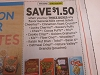 15 Coupons $1.50/3 General Mills Cereal Cheerios Cinnamon Toast Crunch 9/26/2020