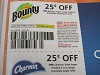 15 Coupons $.25/1 Bounty Paper Towel + $.25/1 Charmin Toilet Paper 4ct 9/12/2020