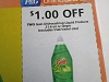 15 Coupons $1/2 Gain Dishwashing Liquid 21.6oz 9/12/2020