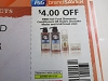 15 Coupons $4/2 Hair Food Shampoo Conditioner or Stylers 9/12/2020