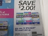 15 Coupons $2/1 Efferdent 90ct 11/8/2020
