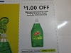 15 Coupons $1/2 Gain Dishwashing Liquid 21.6oz 10/10/2020