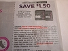 15 Coupons $1.50/1 Carefree Breathe Liners or Pads 10/24/2020