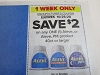 15 Coupons $2/1 Aleve or Aleve PM 40ct 10/25/2020