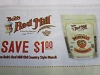 15 Coupons $1/1 Bob's Red Mill Old Country Style Muesil 11/30/2020