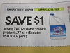 15 Coupons $1/2 Clorox Bleach 77oz 12/31/2020