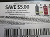 15 Coupons $5/2 Tresemme Shampoo or Conditioner 11/14/2020