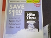 15 Coupons $1/1 NiteThru Advanced Sleep Aid 11/30/2020