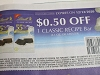15 Coupons $.50/1 Lindt Classic Recipe Bar 12/12/2020